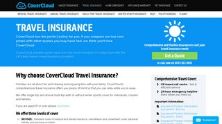 Travel Insurance - CoverCloud Insurance