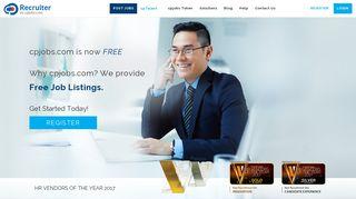 cpjobs Recruitment Platform: Post Jobs Free