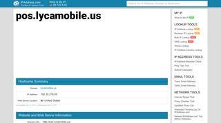 pos.lycamobile.us - Lycamobile Pos   IPAddress.com