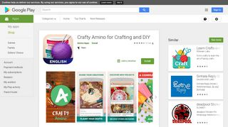 Crafty Amino for Crafting and DIY - Apps on Google Play