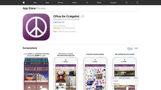 CPlus for Craigslist on the App Store - iTunes - Apple
