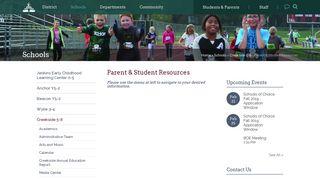 Dexter Community Schools: Parent & Student Resources