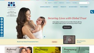 India's First Premier Cord Blood Bank | Cryoviva India