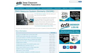 TEKS Resource System (formerly CSCOPE) | Texas Classroom ...