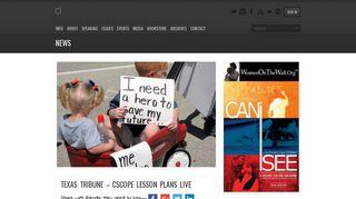 texas tribune – cscope lesson plans live - Voices Empower