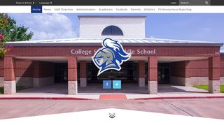 College Station Middle School: Home