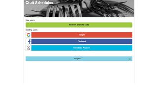 Ctuit Schedules - Ctuit RADAR