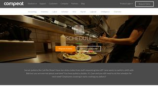Labor Scheduling - Schedule | Compeat