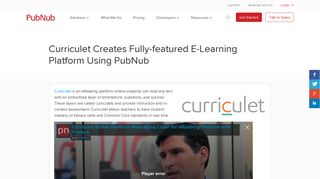 Curriculet Creates Fully-featured E-Learning Platform   PubNub