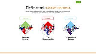 Telegraph Fantasy Football - The Telegraph