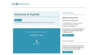 MyDNB.com Login