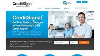 CreditSignal®   Free Business Credit Report   Dun & Bradstreet ...