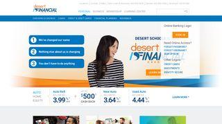 Local Credit Union in Arizona - Desert Financial