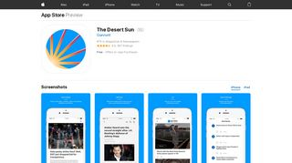 The Desert Sun on the App Store - iTunes - Apple