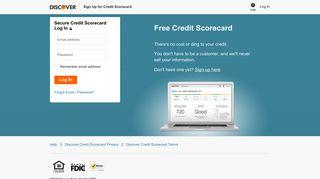 Discover Credit Scorecard