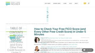 Check Your Free FICO Score (and Other Credit Scores) in 5 Minutes