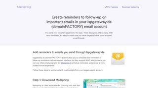 How to turn on reminders for your Ispgateway.de (domainFACTORY ...