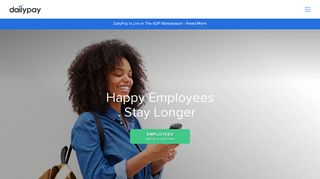 Daily Payments for Employees | Recruitment & Retention Tool | DailyPay