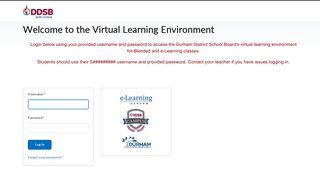Login - Durham DSB - e-Learning