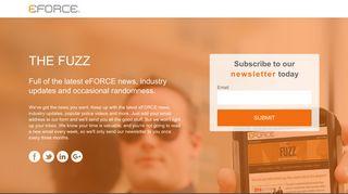 eFORCE Newsletter Sign-up - eFORCE Software