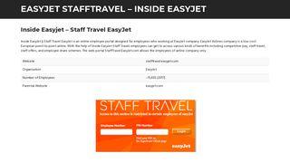 Inside Easyjet - Staff Travel EasyJet