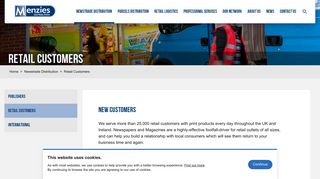 Retail Customers - Menzies Distribution