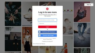 Log in to see more - Pinterest