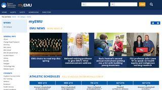 myEMU: Home - Main View | On Campus