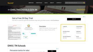 Welcome to Emis.tnschools.gov.in - EMIS   TN Schools