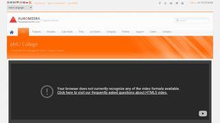 eMLi: Online College Campus Management System | Student ...