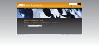 Employee Login   Empire Resources