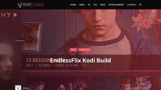 How to install the EndlessFlix Build on Kodi Krypton - PwrDown