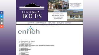 Enrich Tutorials - Centennial BOCES