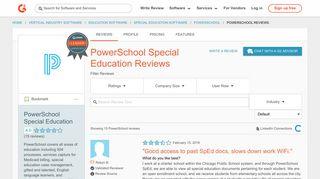 PowerSchool Special Education Reviews 2018 | G2 Crowd