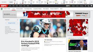 ESPN Fantasy Football - ESPN.com