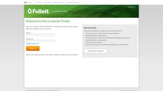 Customer Portal | Sign In | Follett