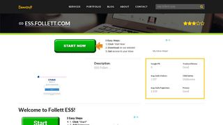 Welcome to Ess.follett.com - Welcome to Follett ESS!