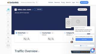 Etes.csc.com Analytics - Market Share Stats & Traffic Ranking
