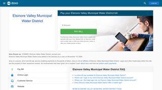 Elsinore Valley Municipal Water District (EVMWD): Login, Bill Pay ...