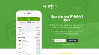 Pay EVMWD with Prism • Prism - Prism Bills
