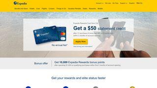 Expedia Rewards Credit Cards from Citi | Expedia