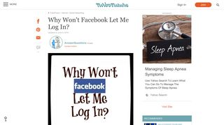 Why Won't Facebook Let Me Log In? | TurboFuture