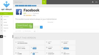 download facebook 2.0 free (android)