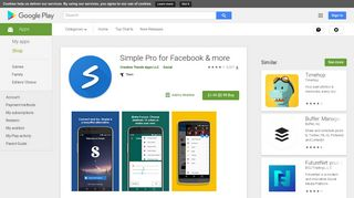 Simple Pro for Facebook & more - Apps on Google Play