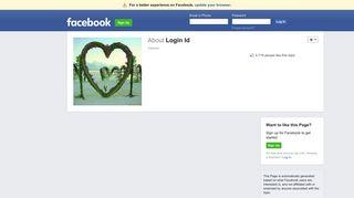 Login Id | Facebook
