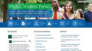My FCC Portal - Frederick Community College