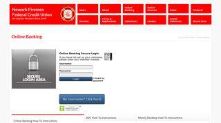 Online Banking – Newark Firemen Federal Credit Union