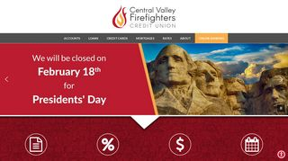 Central Valley Firefighters Credit Union: Welcome
