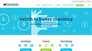 Communication Federal Credit Union - Checking, Loans, Mortgages