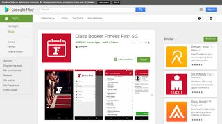Class Booker Fitness First SG - Apps on Google Play